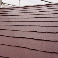 屋根塗装の施工完了後
