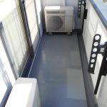 足立区K様邸のバルコニー防水工事 – バルコニーのウレタン防水リフォーム