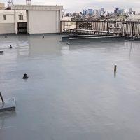 屋上防水工事の完了後
