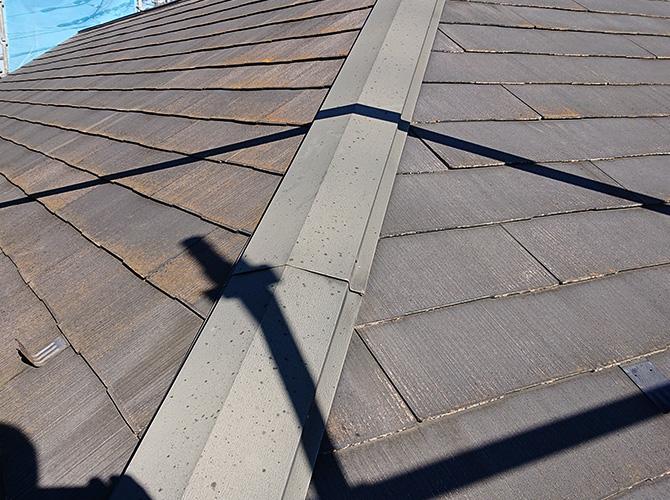 屋根塗装の施工前の状態