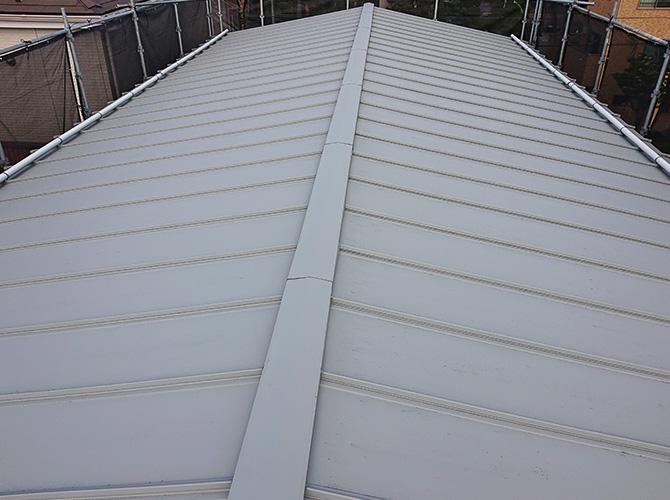 工場屋根塗装の施工前
