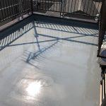 足立区I様邸の屋上防水工事 – 屋上のウレタン防水リフォーム