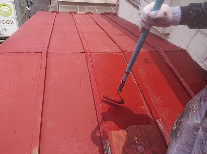 屋根塗装のサビ止め