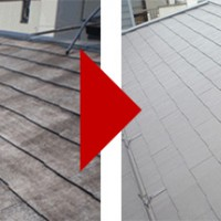 東京都豊島区千川の屋根塗装