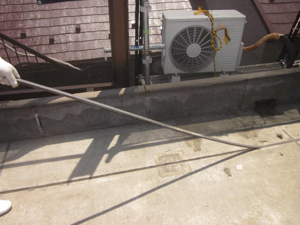 屋上防水工事の施工前