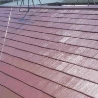 東京都小平市の屋根塗装の施工完了後