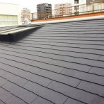 品川区H様邸の屋根の葺き替え工事 – 瓦屋根からスレート屋根材へリフォーム