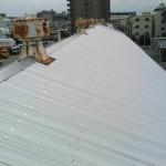 市川市T工場の屋根カバー工法 – 工場の屋根修繕メンテナンス