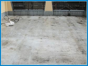 屋上床の劣化症状