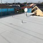 横浜市Aアパートの屋上防水リフォーム – アパート屋上のシート防水工事