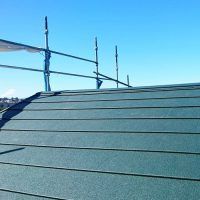屋根カバー工法の完了後