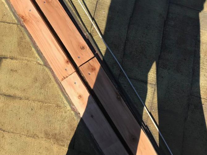 貫板の固定