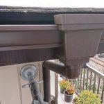 練馬区I様邸の樋交換工事 – 軒樋・集水器などの雨樋交換工事