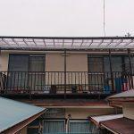 横浜市K様邸のベランダ屋根張り替え工事 – 屋根波板の交換リフォーム