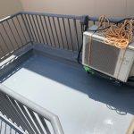 港区Gマンションのベランダ防水工事 – マンションのウレタン防水リフォーム