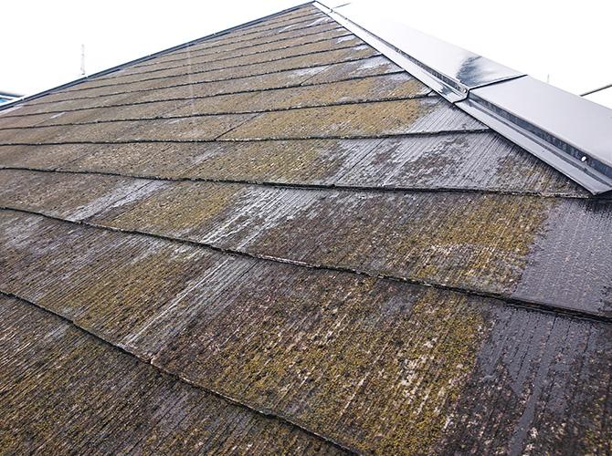 屋根塗装の施工前