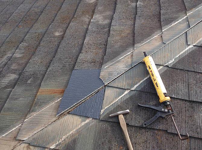 屋根材の張り替え